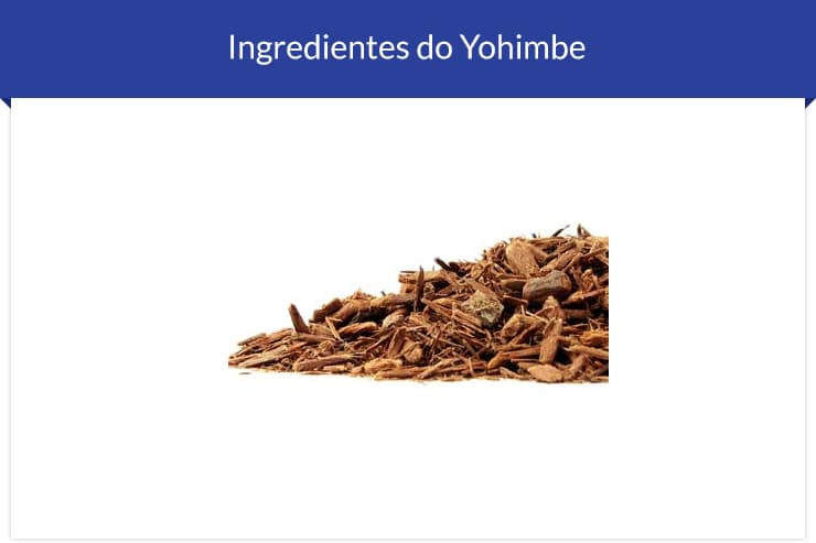 Ingrediente do Yohimbre