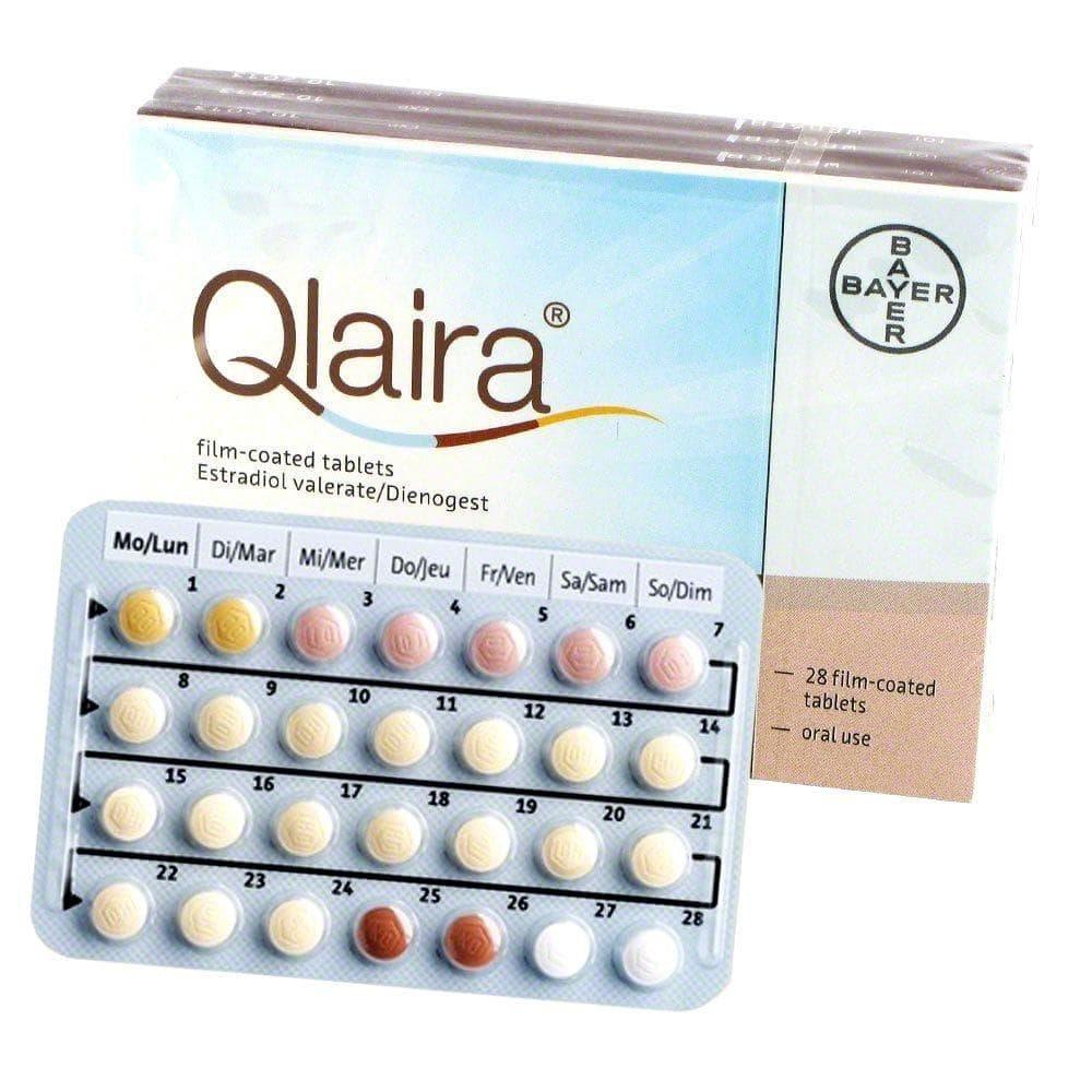 Qlaira Pille kaufen - Rezept inkl. - euroClinix