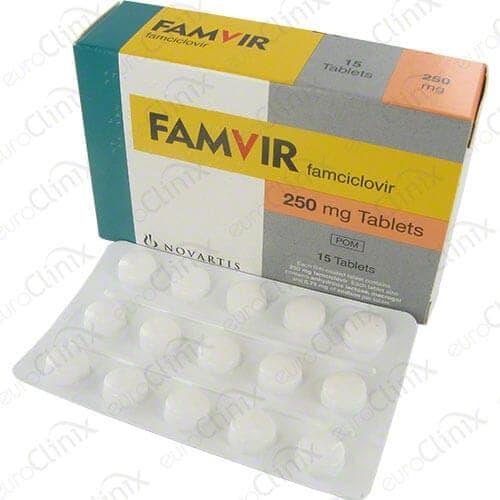 Famvir | Køb herpes behandling (Famciclovir) online