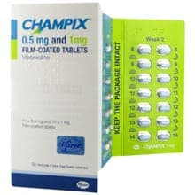 Champix 0.5mg & 1mg Film Coated Tablets
