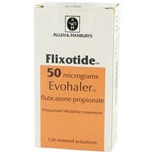 Pack of Flixotide Accuhaler and Evohaler