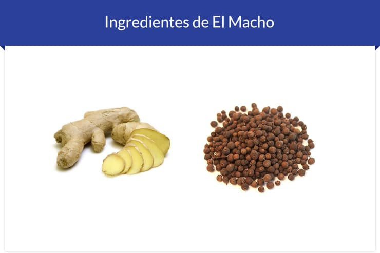 Ingredientes do El Macho