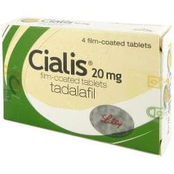 Cialis Packung und Tabletten
